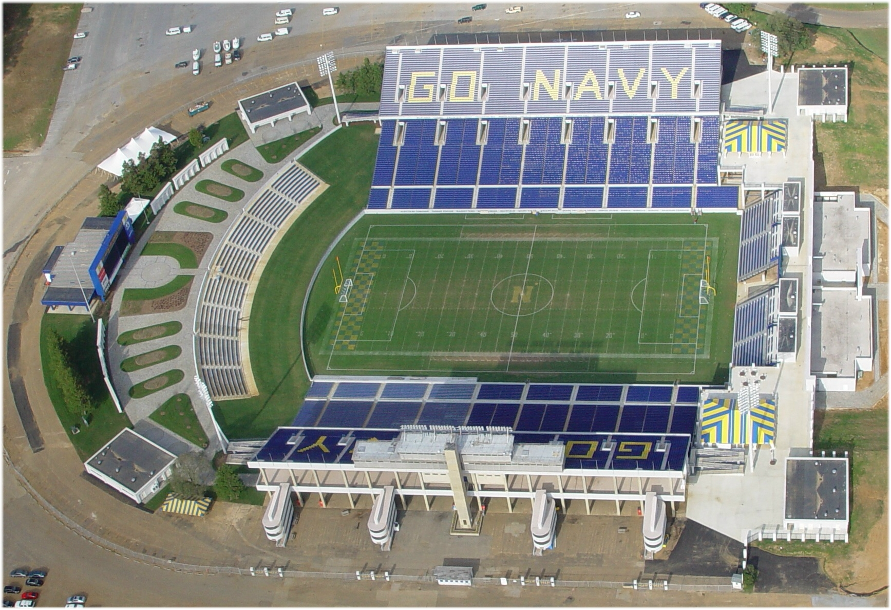 Navy Stadium Before After
